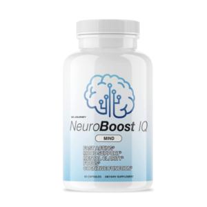 a bottle of NeuroBoost IQ brain supplement