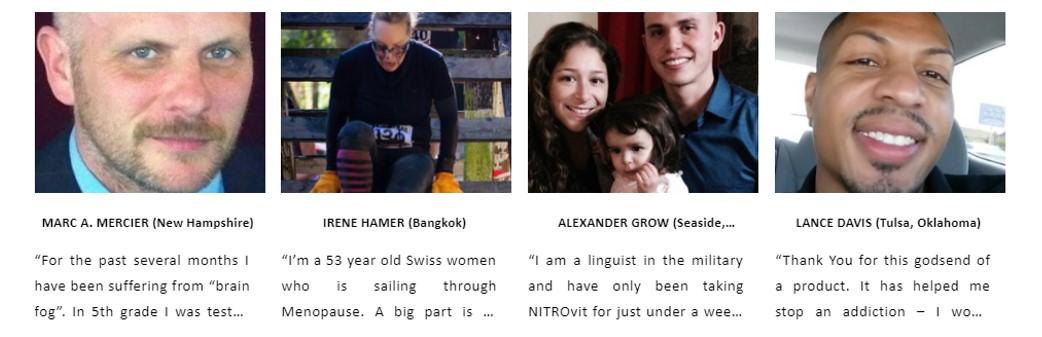 Nitrovit testimonials