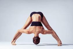 Open Legged Forward Bend Pose