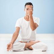 Pranayama Breathing Pose