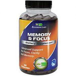 Supplementbuyer Biogreen Labs Memory Focus