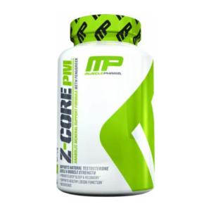 a bottle of MusclePharm Z-core PM