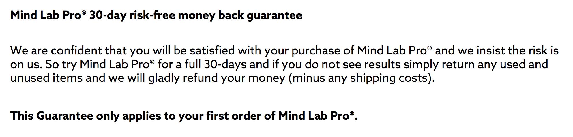 MindLab Pro 3-Month Supply, MindLab Pro Review, MindLab Pro, MindLab Pro Scam, Mindab Pro Return