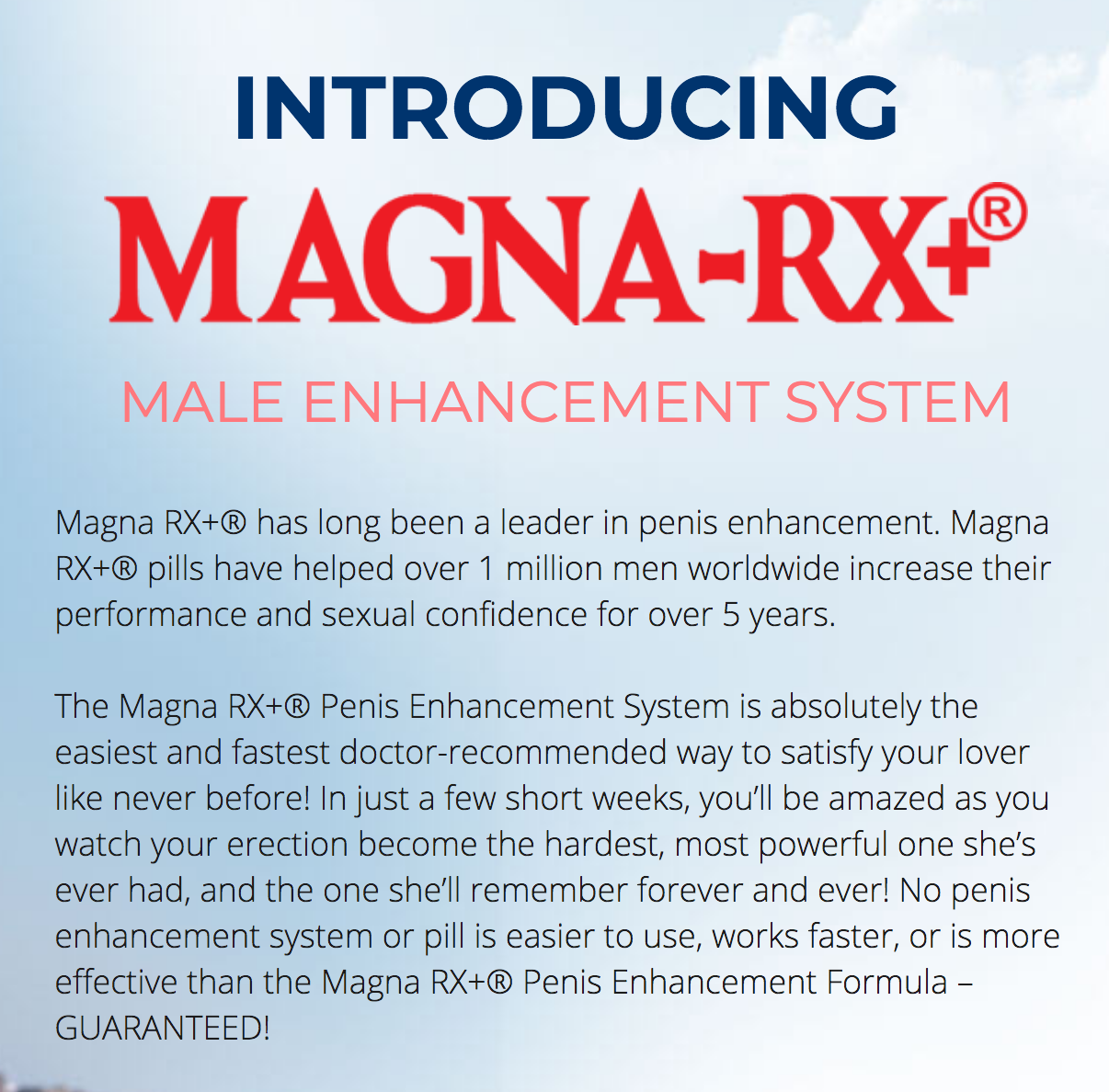 Cheap  Magna RX Price Outright