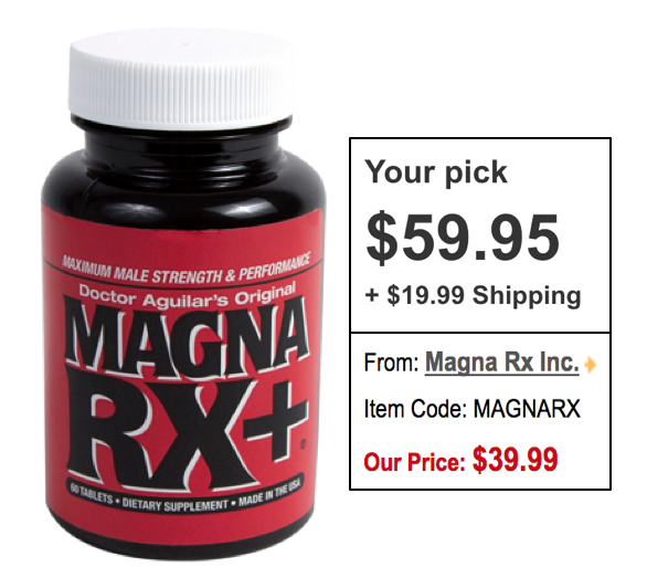 Save On Magna RX Male Enhancement Pills