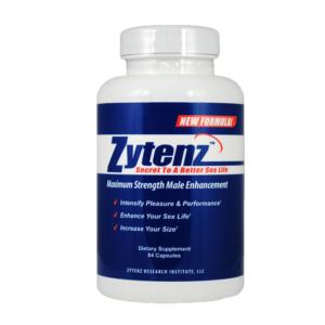 a bottle of Zytenz brain supplement