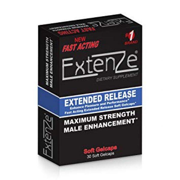 a box of Extenze, Extenze Ingredients, Extenze Review, Supplement Buyer, Extenze Supplement Facts, Extenze Scam