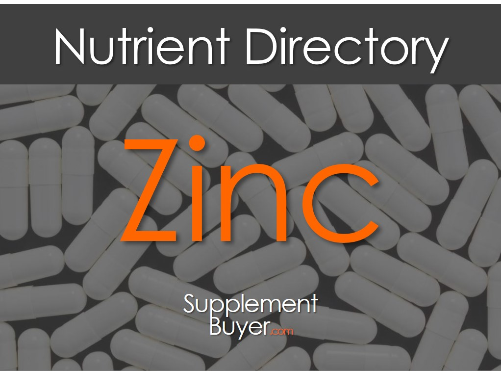A Zinc Supplement article cover