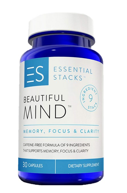 Beautiful Mind brain supplement bottle