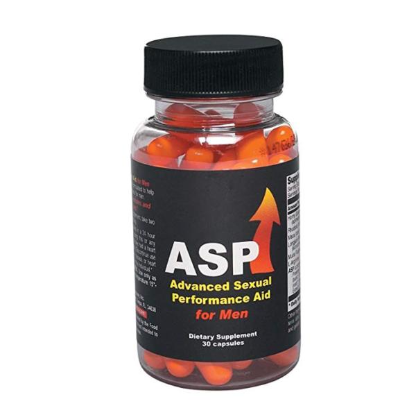a bottle of ASP for Men