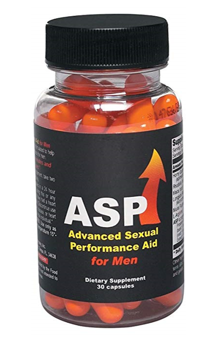 a bottle of ASP for Men