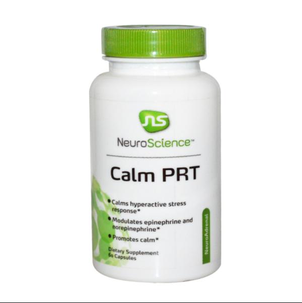 a CalmPRT brain supplement bottle