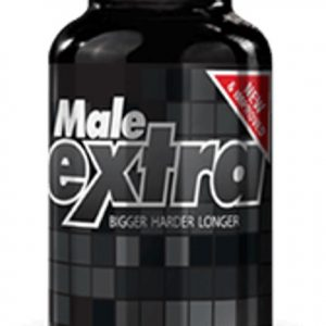 Male Extra male enhancement bottle