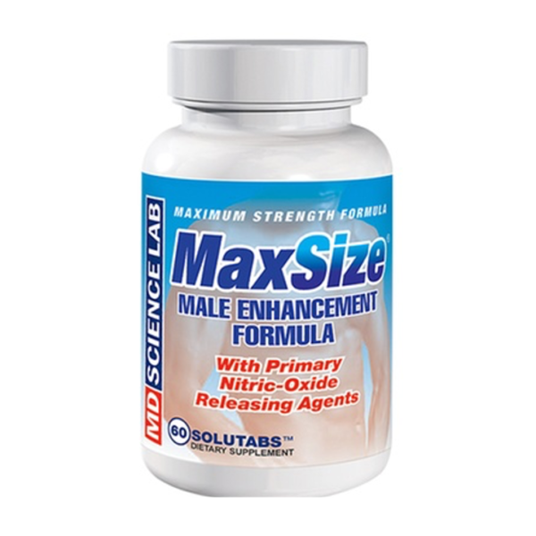 MaxSize Male Enhancer Bottle