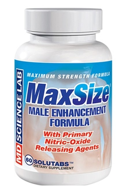Max Size Male Enhancer Bottle