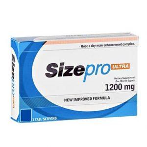Sizepro male enhancer packet