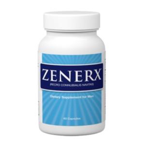 a bottle of Zenerx male enhancement bottle