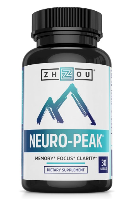 Neuro Peak supplement Bottle