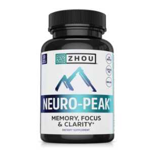 a Neuro Peak supplement Bottle