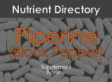 Piperine (Black Pepper Extract) – Benefits, Dosage, And Side Effects