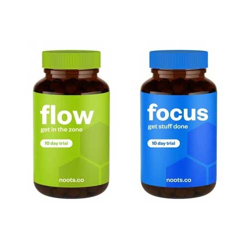 Noots Focus & Flow Review  Focus and Memory Boosters